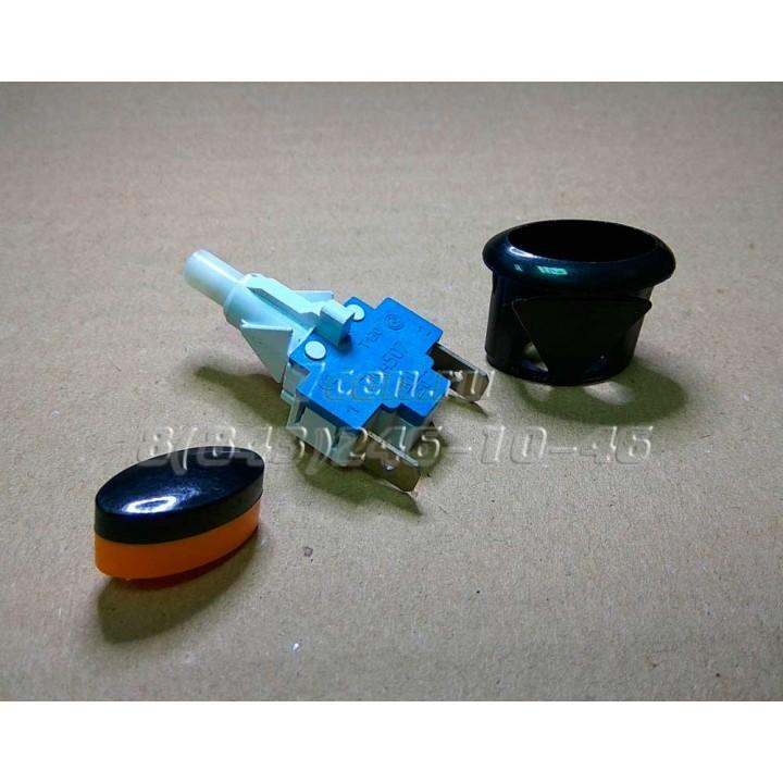 Кнопка подсветки чёрная ПКн 507-223