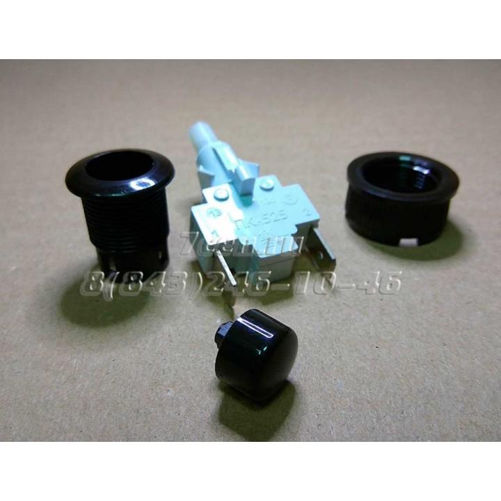 Кнопка розжига чёрная Гефест ПКН 508.2-222